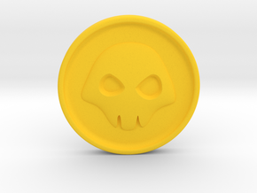 Doubloon - Heroes of the Storm in Yellow Processed Versatile Plastic