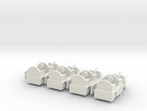 Firetruck4m in White Natural Versatile Plastic
