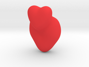 Cleromancy Token - Love/Romance/Relationships in Red Processed Versatile Plastic