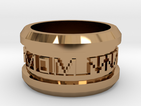 A Gift Most Personal for Mom in Polished Brass
