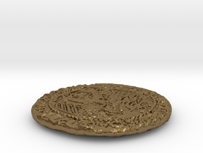 Uncharted: Spanish Gold Coin in Polished Bronze