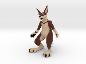 Kangaroo in Full Color Sandstone