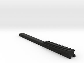 M17CQC 2 degree rail in Black Strong & Flexible