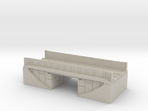 16 Bit Train Bridge in Sandstone