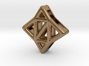 Starlit Pendant in Natural Brass