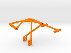 SuDu Mod 3D Rear Cage in Orange Processed Versatile Plastic