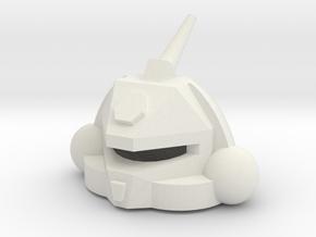 Robothelmet: Bug Bite in White Natural Versatile Plastic