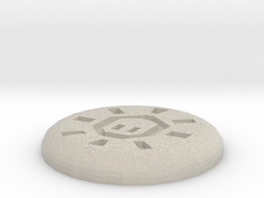 Mind Rune in Sandstone