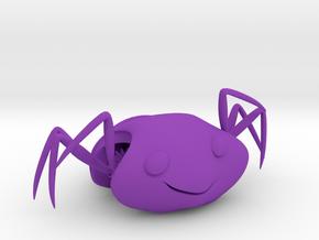 ARIA  . Ami . Aranha . Araignée . クモ . 거미 in Purple Processed Versatile Plastic