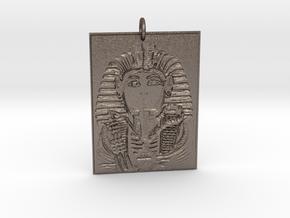 BigMidas Tut in Polished Bronzed Silver Steel