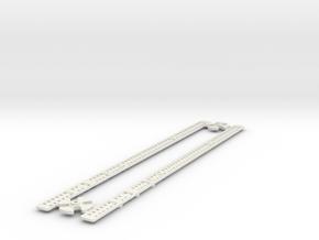 L-32-single-level-crossing-gate-stick-gears-1a in White Natural Versatile Plastic