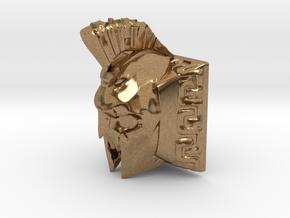 Spartan Ghost Keycap (Cherry MX DSA) in Natural Brass