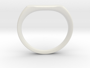 Ring - Personalized Occasion in White Natural Versatile Plastic