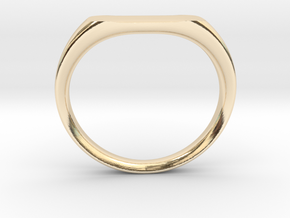 Ring - Personalized Occasion in 14k Gold Plated Brass