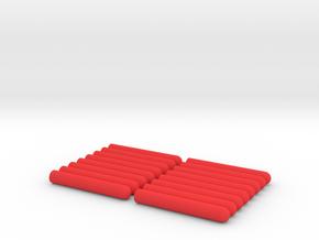 Nerf Darts in Red Processed Versatile Plastic