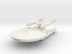 Constellation Class   New Axanar Ship in White Strong & Flexible