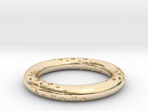 Bubbles - Precious Metals in 14K Yellow Gold: 3 / 44