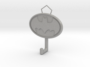 Batman Logo hook in Aluminum