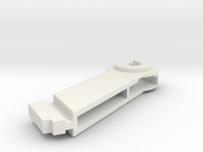 Plotter 1520 Coil Mount (Left) in White Natural Versatile Plastic