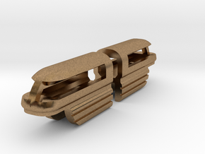 Monorail 1 in Natural Brass