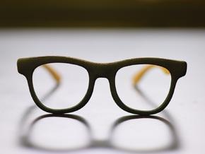 Optoid Hybrid MkII: Custom Fit Rx Eyewear in Black Natural Versatile Plastic