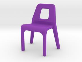 Chair Tyari in Purple Processed Versatile Plastic