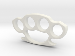 Imprint ring in White Natural Versatile Plastic