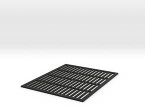 Queen Excluder 1/8 scale in Black Natural Versatile Plastic