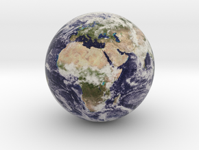 Earth's Schwarzschild Radius, Earth in Full Color Sandstone