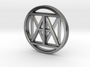 United IAM 38mm Coin in Polished Silver