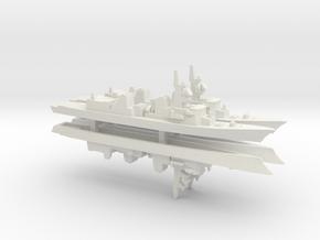 Murasame-class destroyer x 4, 1/1800 in White Natural Versatile Plastic