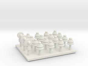 Verderón MZA 3ª  Techo Linternón Aireadores in White Natural Versatile Plastic