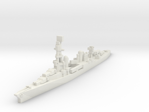 Pensacola class cruiser 1/2400 in White Natural Versatile Plastic