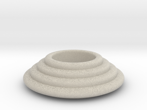Tealight Holder in Sandstone