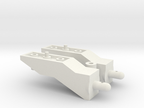 Tamiya Pajero CC01 10mm Body Lift Kit in White Strong & Flexible