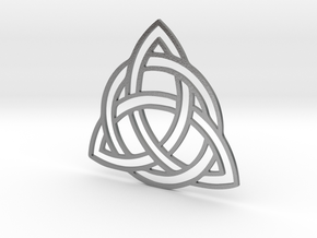 Ancient celtic Symbol in Raw Silver