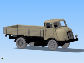 LKW Horch H3 Pritsche Spur TT 1:120 in Smooth Fine Detail Plastic