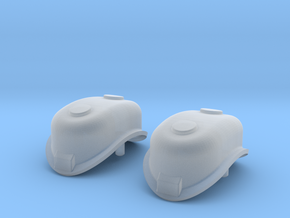 OO, 1/76 or 4mm/Foot Scale K4 Sand Dome 2PK in Smooth Fine Detail Plastic