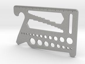 Multi-Tool Card (for Sliminal) in Aluminum