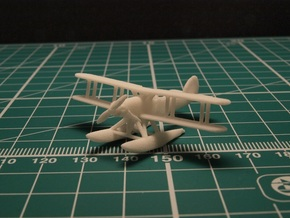Fairey Gordon and Seal set (two airplanes) 1/285 in White Strong & Flexible