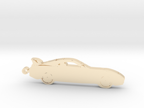 Toyota Supra MK4 keychain in 14K Yellow Gold