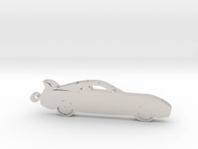 Toyota Supra MK4 keychain in Platinum