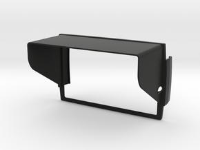 Sunshade (Clip-On) for BMW Navigator 5 in Black Natural Versatile Plastic