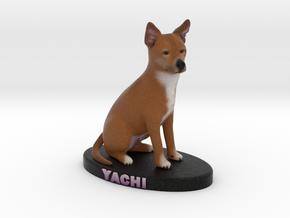 12854 - Yachi - Figurine-meters in Full Color Sandstone