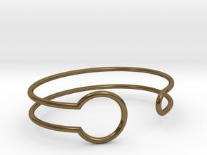 Witness Bracelet in Polished Bronze: Small