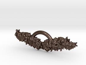 wings in Polished Bronze Steel