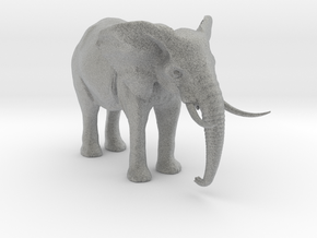 African Alpha Elephant in Metallic Plastic