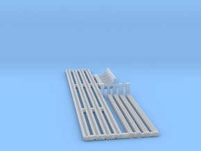 Gutters & Downspouts - HO 87:1 Scale in Smooth Fine Detail Plastic