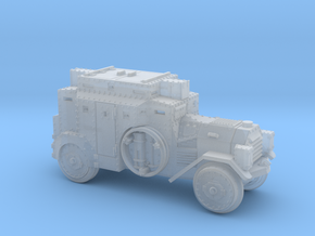 SdKfz3 (15mm) in Smooth Fine Detail Plastic