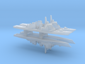 Kongo-class Destroyer x 4, 1/6000 in Smooth Fine Detail Plastic
